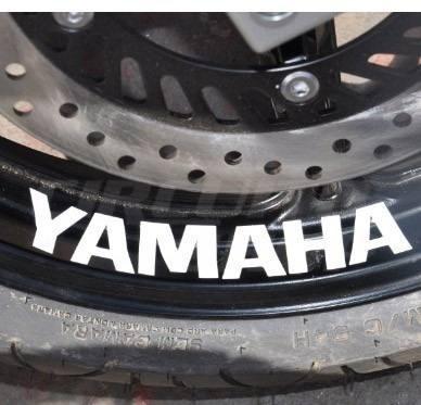 Adesivo Relevo Roda Moto Yamaha Fazer 250 600 Xj6 R1 R6 150