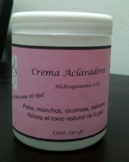 Crema Blanqueadora 20%, Elimina Melasma, Manchas Oscuras