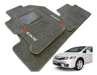 Tapete Luxo Honda New Civic 07 08 09 10 2011