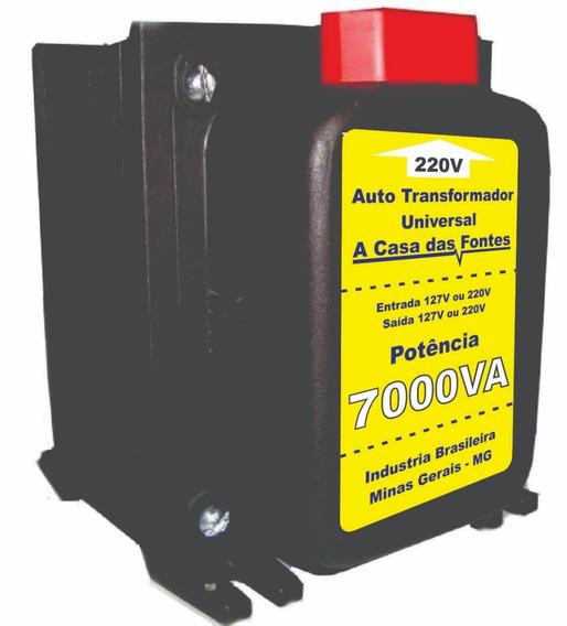 Conversor De Eletricidade 7000va Com Tomadas E Cabo H