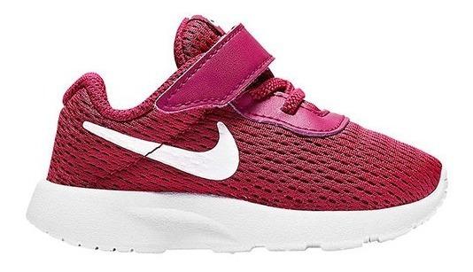 Tenis Nike Tanjun (gtv) Vino/rosa Tallas De #11 A #16 Bebes