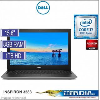 Laptop Dell Core I7 8gb Ram 1tb 15.6 Inspiron 3583