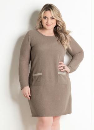 Vestido Plus Size - Tamanho G Gg Xxg Xlg