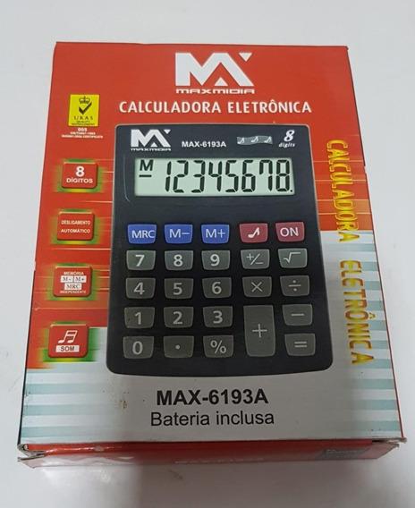 Calculadora Max-6193a