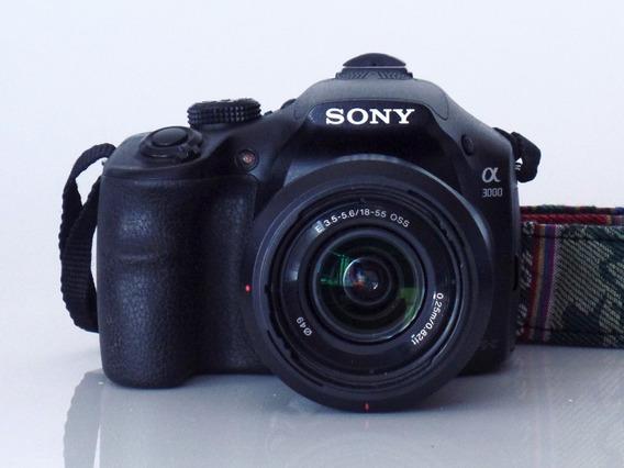 Câmera Mirrorless Sony A3000