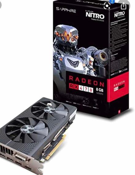 Placa De Video Sapphire Radeon 470 Nitro 8 Gb