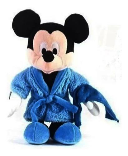 Peluche Mickey Con Bata 25 Cm Plush Original Disney