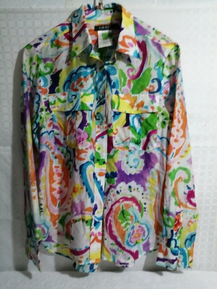 Polo Ralph Lauren Camisa De Dama Original