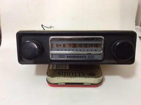 Rádio Antigo Bandeirante Usado Leia Descrição