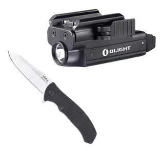 Canivete Sandvik Nextorch Lk5280 + Lanterna Valkyrie Pl-mini
