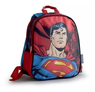 Mochila Superman Liga De La Justicia 12p Espalda 61117