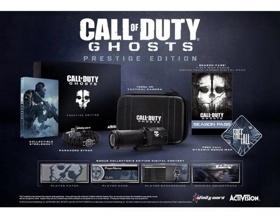 Call Of Duty: Ghosts Prestige Edition Ps3 Câmera Tática