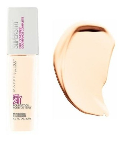 Base Maybelline Super Stay Full Coverage N°110 Porcelain