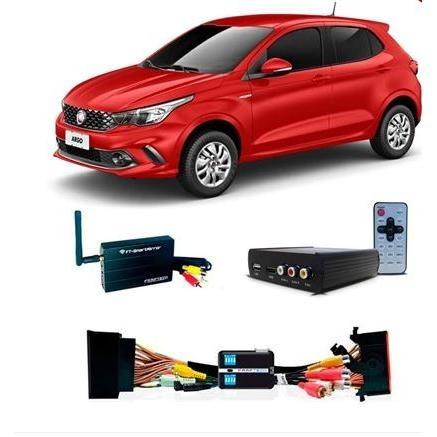 Desbloqueio De Tela Fiat Argo + Tv Full Hd E Espelhamento