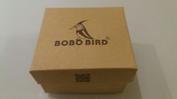 Relógio Bobo Bird Novo Na Embalagem. Caixa De Madeira.