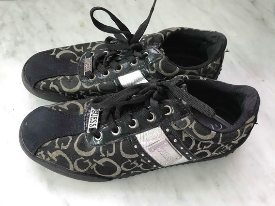 Zapatillas Importadas Usa Marca Guess Talle 37 Y Medio