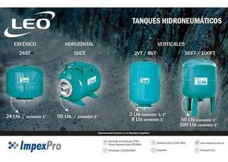 Tanque Hidroneumatico Leo Group Vertical 8 Litros