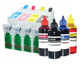 Cartuchos Recargables Tinta Para Epson T24 T23 Tx105 Tx115