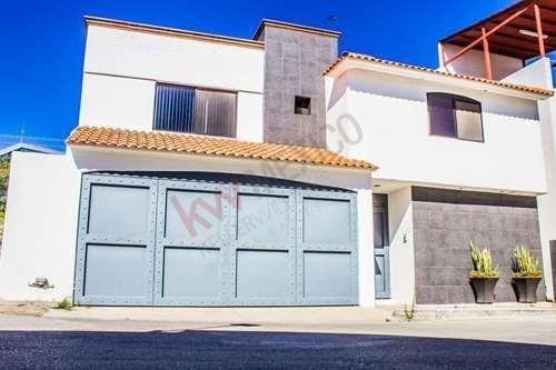 Casa En Renta En Privada De La Mancha A 3 Minutos De Plaza San Luis $26,000.00