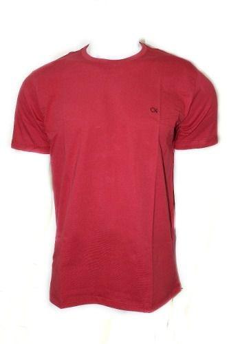 Camiseta Básica Masculina Bordô Ogochi X00600000100