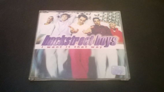 Cd Backstreetboys - I Want It That Way Frete 9,00