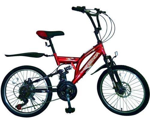 Bicicleta Infantil Aro 20 Benoá 18 Marchas Quadro Aço