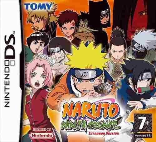 Jogo Nintendo Ds Naruto Ninja Council Usado