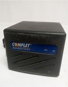Regulador De Volyaje Complet Erv-4-074 100-140v 8 Contactos