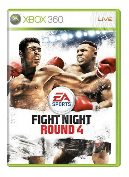 Fight Night Round 4 Xbox 360 Mídia Física