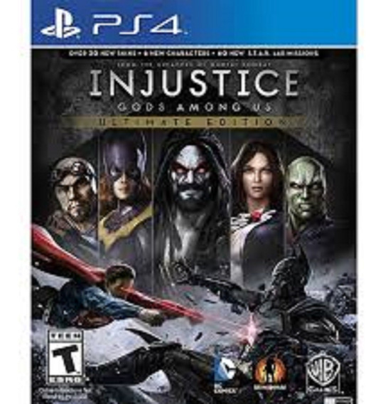 Injustice: Gods Among Us Ultimate Edition-ps4-psn-original 1
