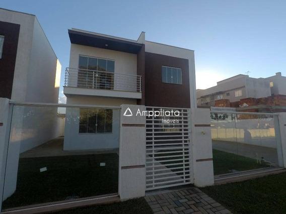 Sobrado À Venda, 108 M² Por R$ 390.000,00 - Jardim Paulista - Campina Grande Do Sul/pr - So0045