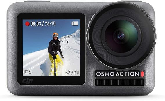 Câmera Dji Osmo Action 4k Anatel Estabilização Prova D