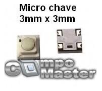 Micro Chave Sony Switch Jvc Smd Original Envio R$15,00
