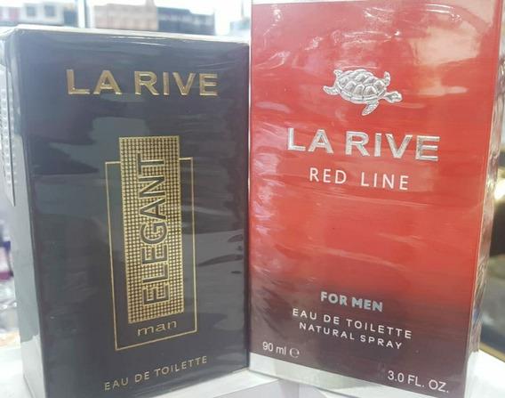 Kitperfume La Rive Elegant Man Edt 90ml+la Rive Red Line For