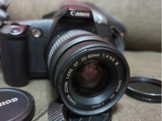 Câmera Fotográfica Canon Eos RebeLG Analógica.