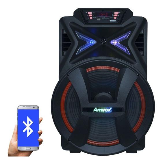 Caixa De Som Amplificada Bluetooth 500w Portátil Led 15 Tws