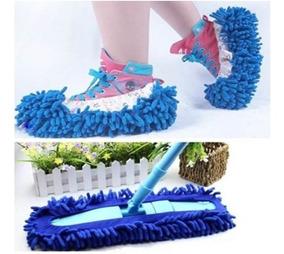 Chinelo Par Sapato Pantufas Limpeza Par