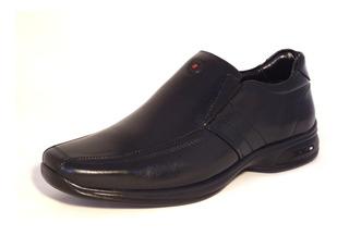 Sapato Masculino Jota Pe 3d Sem Cadarço Em Couro 71457