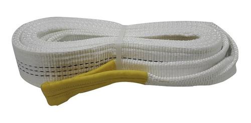 Imagen 1 de 6 de Eslinga De 3 Toneladas 4 Metros Izaje Linga Certificada