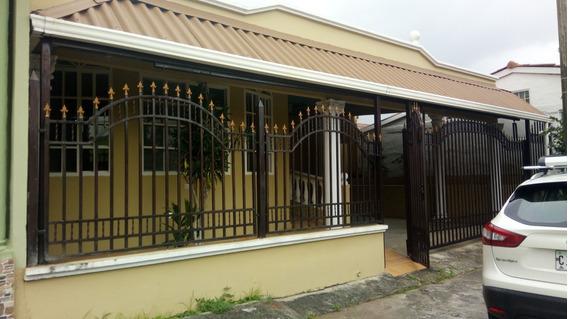 Alquilo Hermosa Casa Cerca De La Parada En Cerro Viento-cr