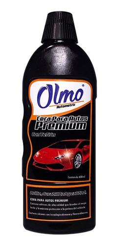 Imagen 1 de 1 de Cera Para Auto Premiun 600 Ml Olmo Automotriz