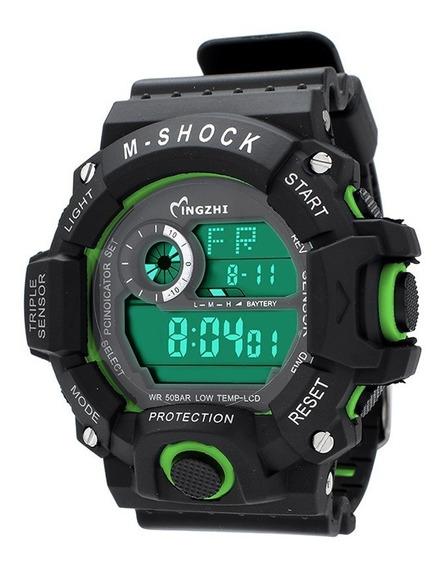Relógio Masculino Digital Militar À Prova D