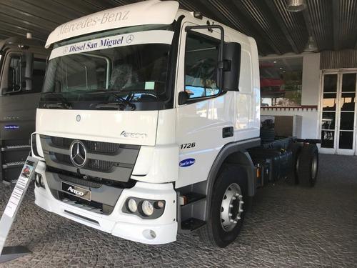 Mercedes Benz Atego 1726/42 Cd Te  Diesel 0km Blanco