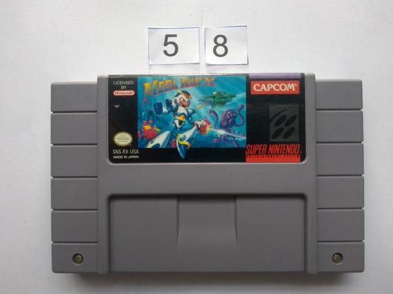 Mega Man X Original Snes - Super Nintendo
