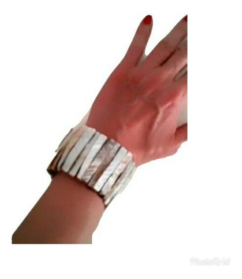 Bracelete Feminino Indiano Madre Perola