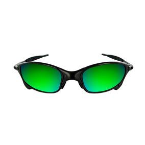 df51b8939 Lentes Oakley Juliet Verde Custom - Óculos no Mercado Livre Brasil
