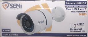 Camera Segurança Cftv Hibrida Hd 4 Em 1 - Sc9103