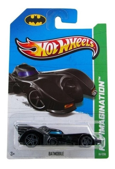 Hot Wheels 2013 Imagination 61/250 Batmobile Batman 1989