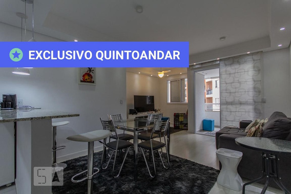 Apartamento No 8º Andar Mobiliado Com 2 Dormitórios E 2 Garagens - Id: 892952153 - 252153