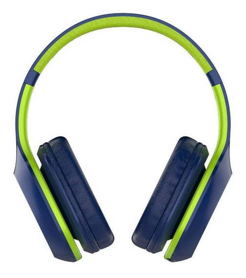 Fone Headphone Xtrax Groove Bluetooth Azul E Verde